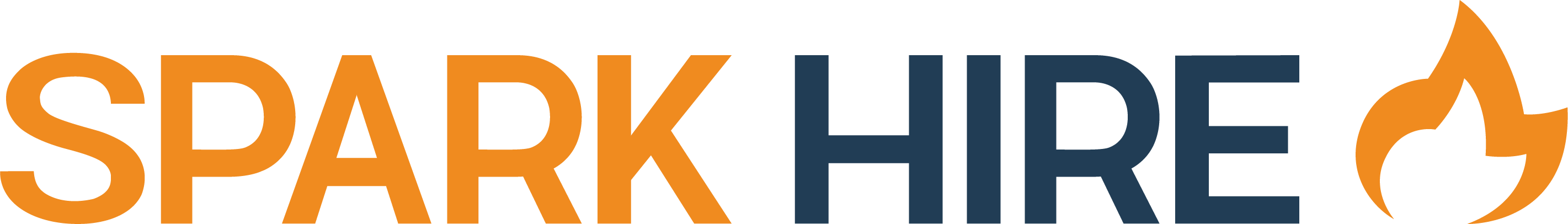 Spark Hire Logo - Orange and Blue.png