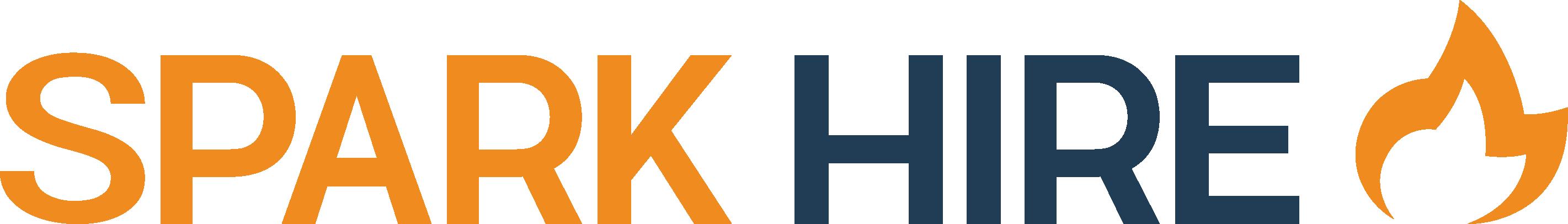 Spark Hire Logo - Orange and Blue.png
