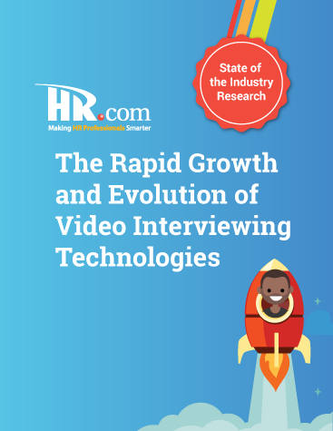 The Rapid Growth and Evolution of Video Interviewing Technologies