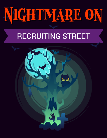 Nightmare on Recruiting Street Infographic