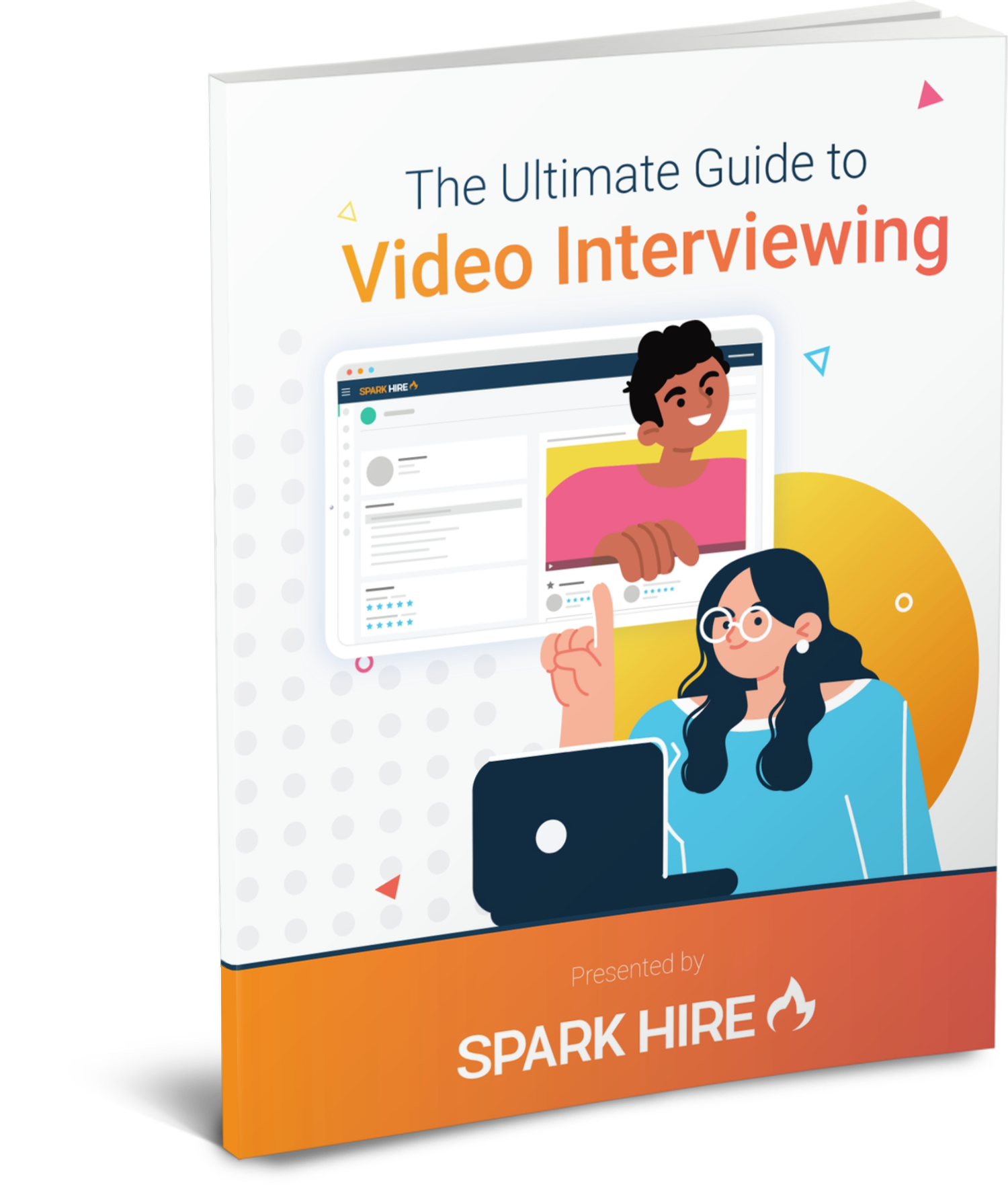 The Ultimate Guide to Video Interviewing eBook Cover