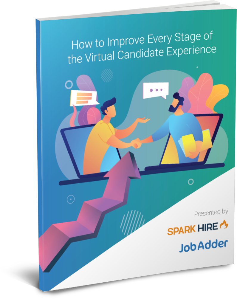 How to Improve Every Stage of the Virtual Candidate Experience - 3D Cover