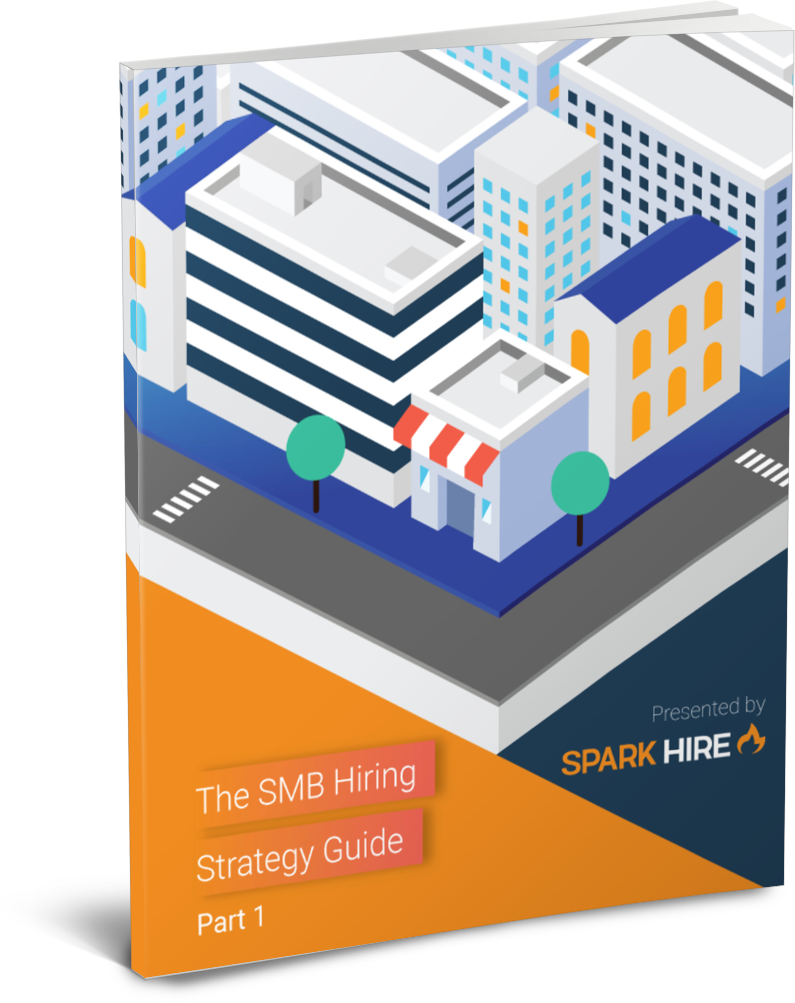 3D cover of The Streamlined SMB Hiring Strategy Guide Part 1